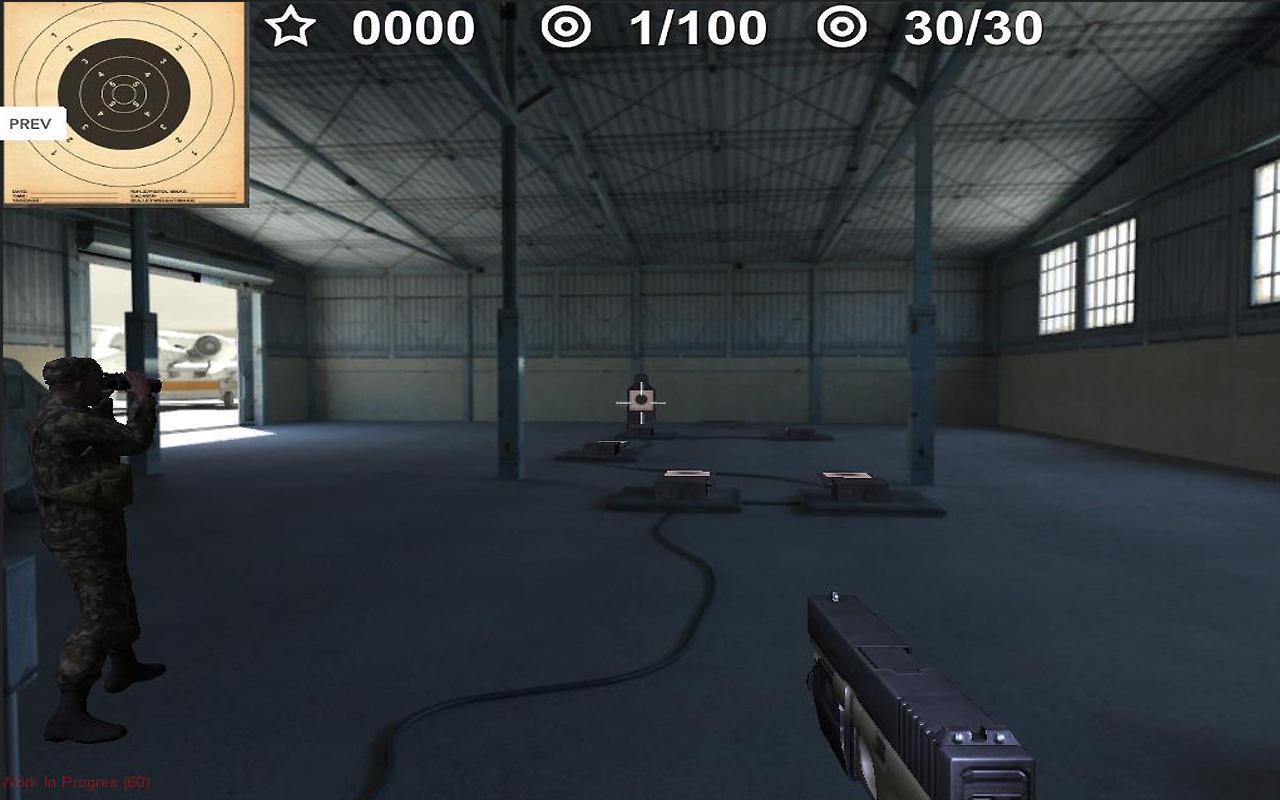Arma II: Firing Range THD screenshot 1