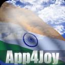 3D India Flag Live Wallpaper