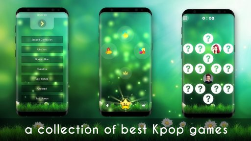 Kpop music game screenshot 1