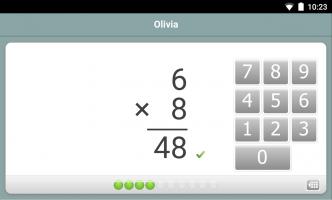 XtraMath Screen