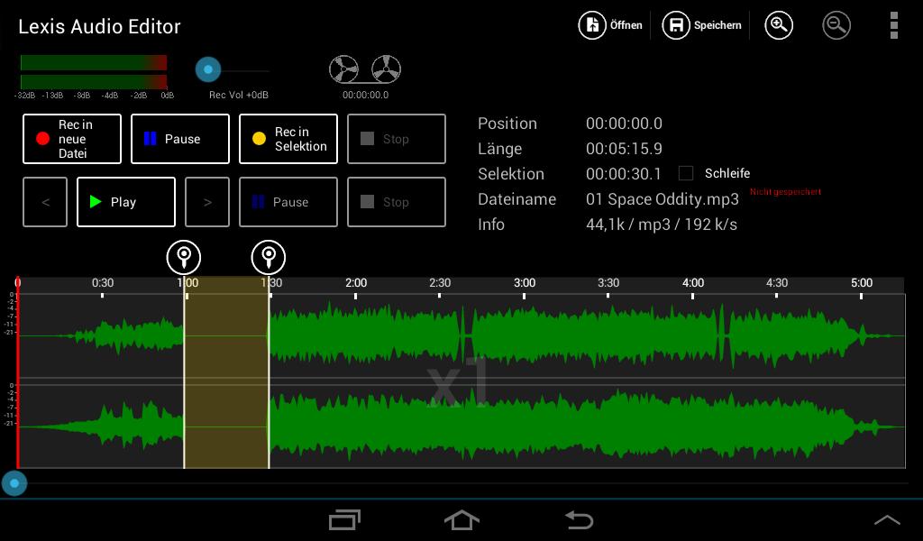 Lexis Audio Editor screenshot 2