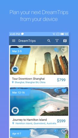 Dreamtrips Screenshot 1 2 3
