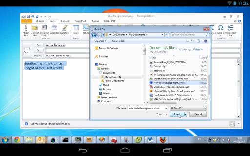 VNC Viewer screenshot 3
