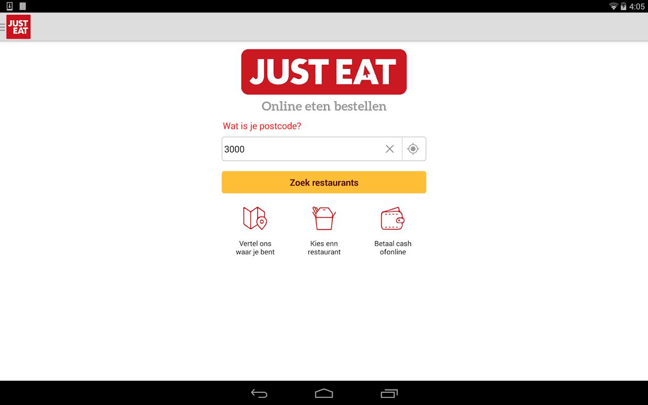 bestel online eten