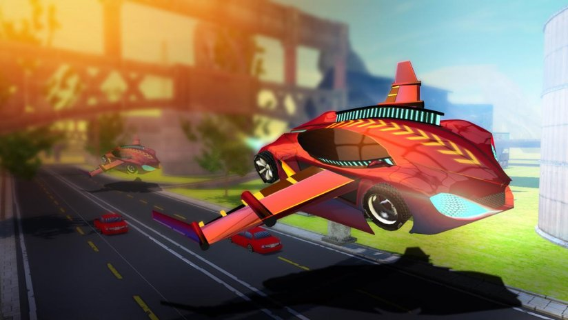 Flying Car Simulator 2017 1 4 Download Apk For Android Aptoide