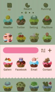 Cupcakes - GO Launcher Theme screenshot 3