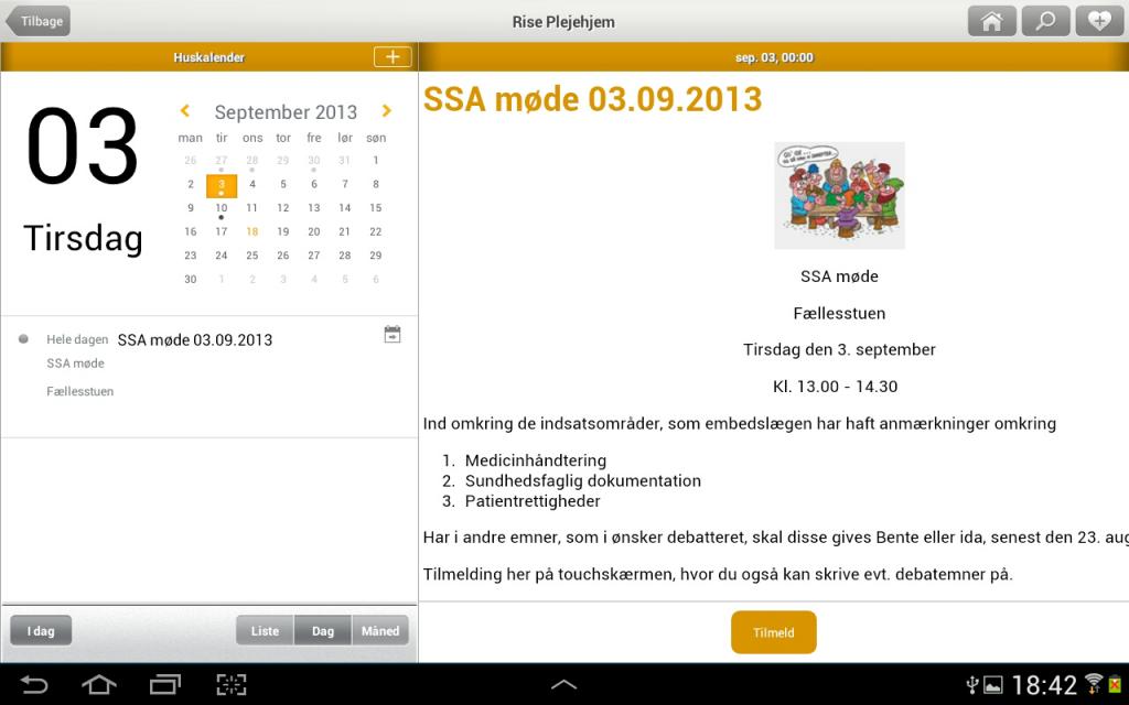 scor.dk mobil app Aabenraa