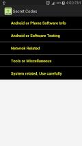 Secret Codes Screenshot