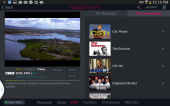 DISH Anywhere Screenshot