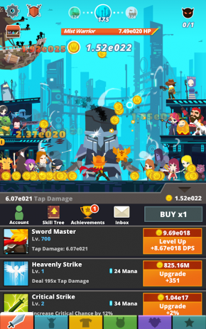 tap titans 2 2 10 1 download apk for android aptoide