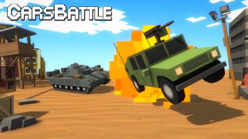 Tanks VS Cars Battle screenshot 1