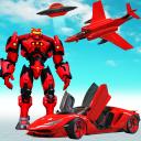 Airplane Jet Robot Car Transform : Car Robot Games