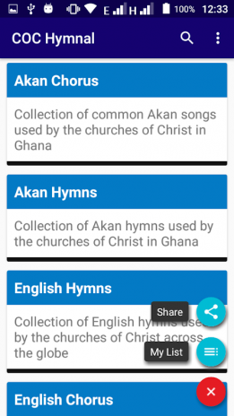 COC Hymnal (Old Version) 1 0 Download APK for Android - Aptoide
