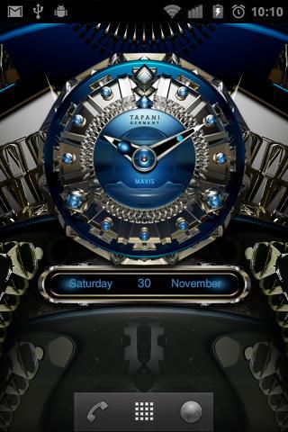 Mavis Luxury Clock Widget screenshot 2