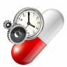 Medication alarm clock Icon