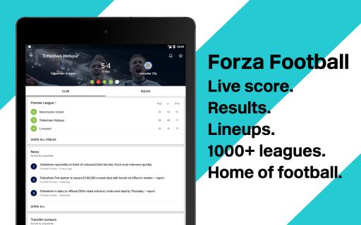 Forza Football - Live scores screenshot 4
