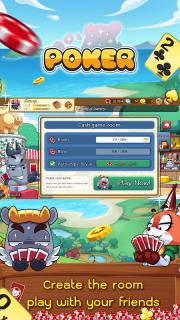 Dummy & Toon Poker Texas slot Online Card Game screenshot 11