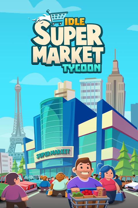 Idle Supermarket Tycoon - Tiny Shop Game screenshot 1