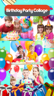 Birthday Party Collage screenshot 2