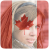 Canada Flag Profile Picture Icon