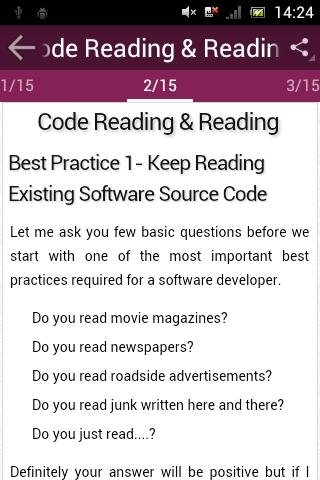 Developers Best Practices screenshot 2