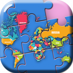 World map puzzle game 10 download apk for android aptoide world map puzzle game icon gumiabroncs Image collections