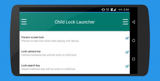 Child Lock Launcher screenshot 9