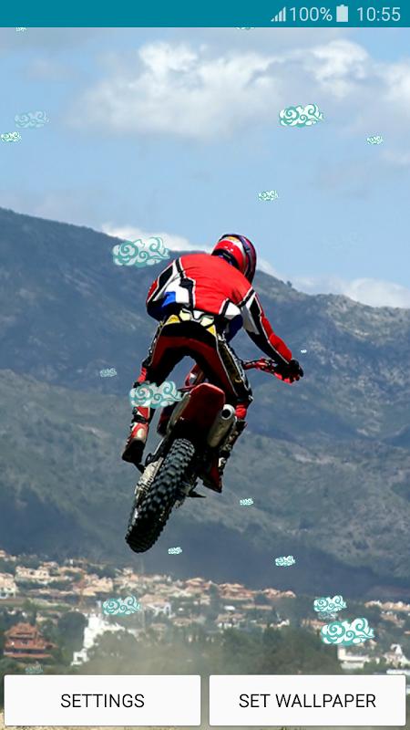 Wallpapers hidup - Motocross 1.5 Muat turun APK untuk