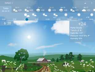 awesome weather yowindow live wallpaper widgets screenshot 8