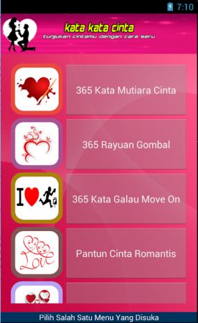 Kata Kata Cinta 20 Download Apk For Android Aptoide