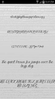 Fonts - Kiss for FlipFont free screenshot 6