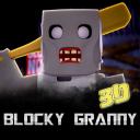 Blocky Granny Horror House 3D