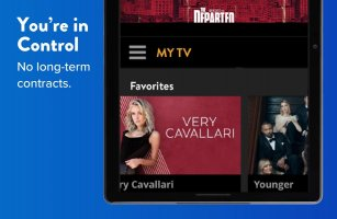 SLING: Live TV, Shows & Movies Screen