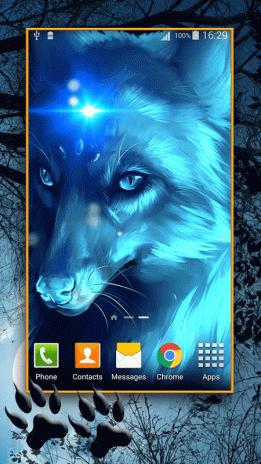 Wolf Live Wallpaper Hd Screenshot 1