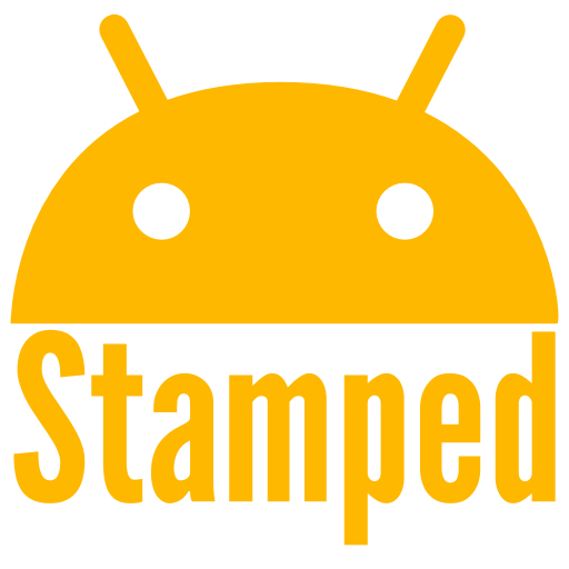 Stamped Yellow Icon Pack
