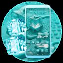 Ice Cubes Mint Launcher Theme