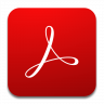 Adobe Acrobat Reader Ikon