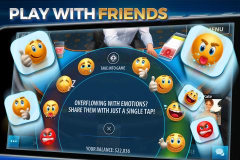 Blackjack 21 - Online Casino screenshot 4