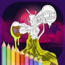Siren Monster Horror Coloring Book