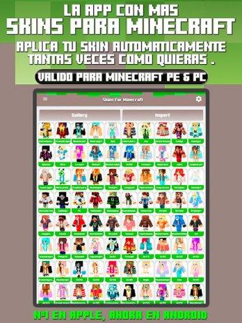 Skins Para Minecraft PE PC Descargar APK Para Android Aptoide - Descargar skins para minecraft gratis android