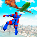 Flying Superhero Rescue Mission: Flying Hero Games