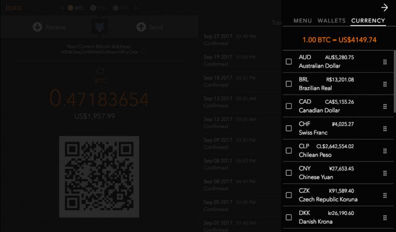Jaxx blockchain wallet 1318 baixar apk para android aptoide jaxx blockchain wallet captura de tela 9 ccuart Choice Image