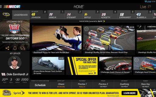 NASCAR MOBILE screenshot 1
