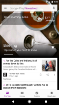 Google Play Newsstand Screenshot