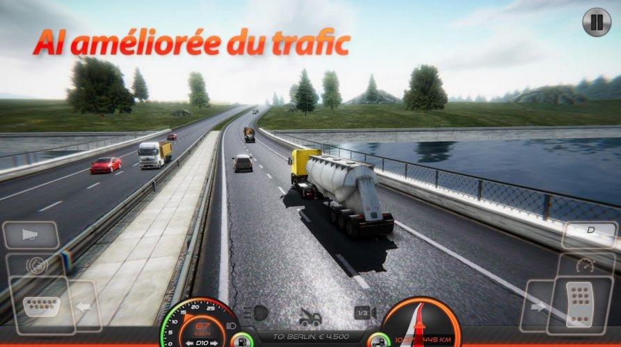 Simulateur de Camion : Europe 2 screenshot 2
