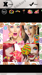Lollipop Photo Collage screenshot 7