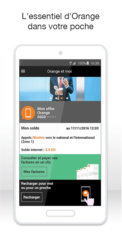 Localiser son portable orange