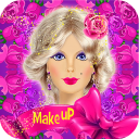 Barbie Makeup,Dress,Hairstyle