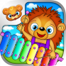 123 kids fun music games free icon