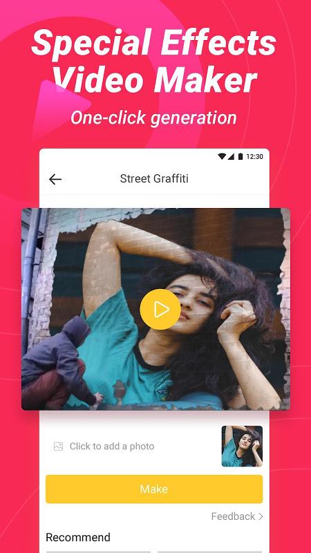 Biugo - Vídeos Curtos Com Mágica e Comunidade screenshot 1